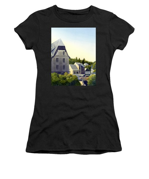 Houses At Murol Women's T-Shirt (Athletic Fit)