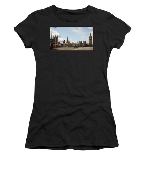 Houses Of Parliament.  Women's T-Shirt (Athletic Fit)