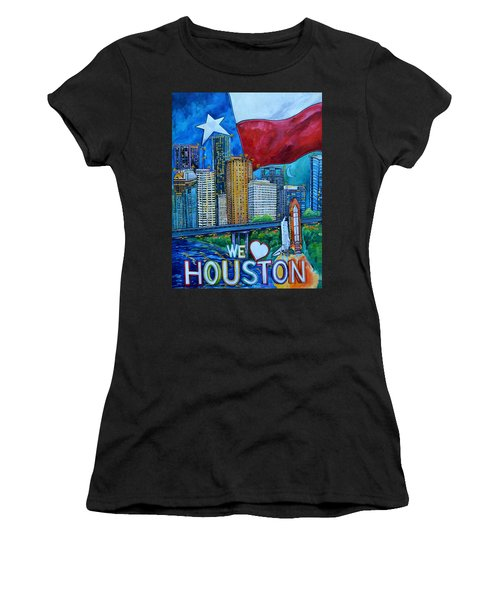 Houston Montage Women's T-Shirt