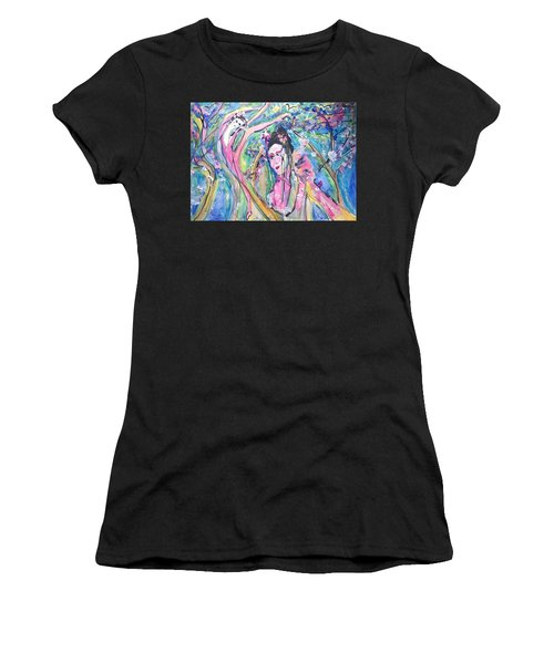 How Are You Petal  Women's T-Shirt (Athletic Fit)