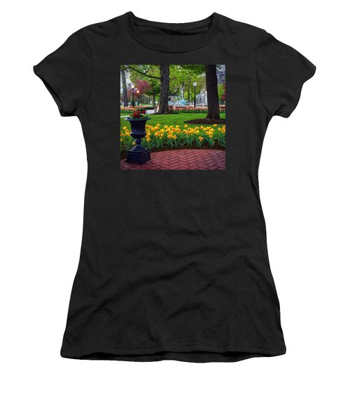 Hudson Falls...a Great Place To Call Home Women's T-Shirt