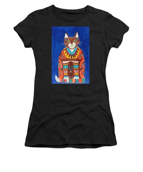 Huey Cat Women's T-Shirt (Athletic Fit)