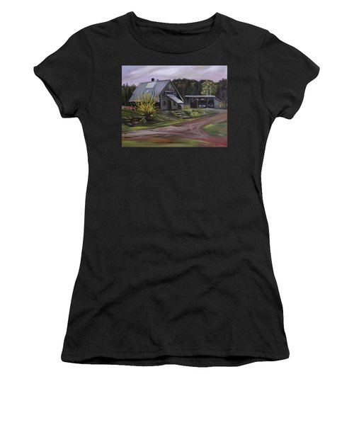 Humpals Barn Women's T-Shirt (Athletic Fit)
