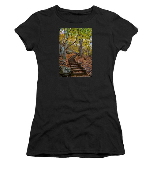 Humpback Rock Trail Women's T-Shirt (Athletic Fit)