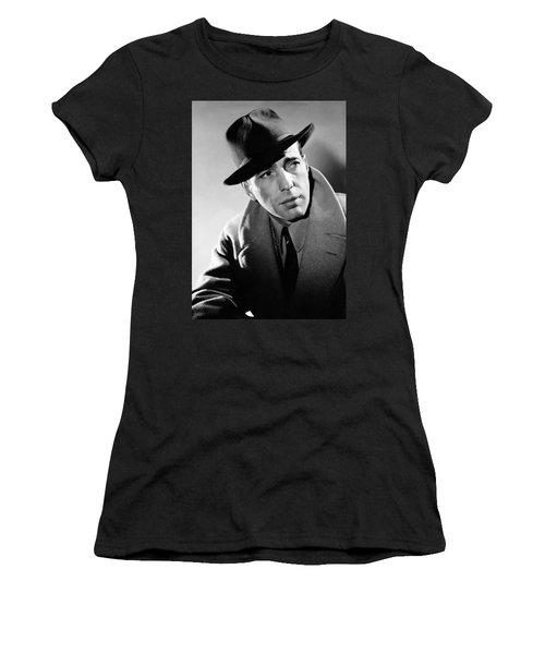 Humphrey Bogart Women's T-Shirt (Athletic Fit)