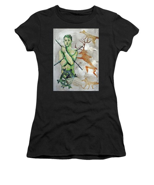 Youth Hunting Turtles Women's T-Shirt