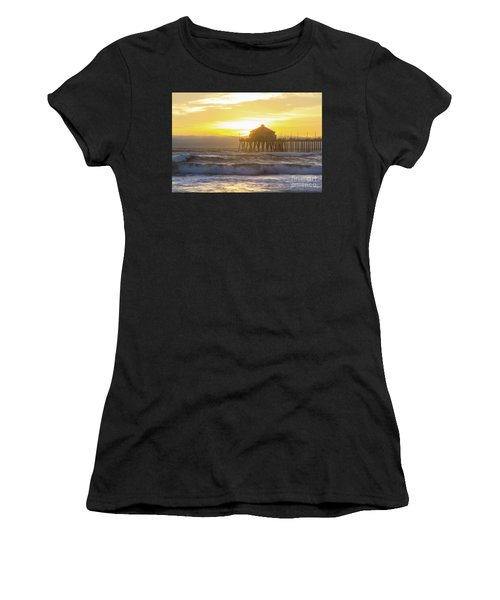 Huntington Peir 2 Women's T-Shirt