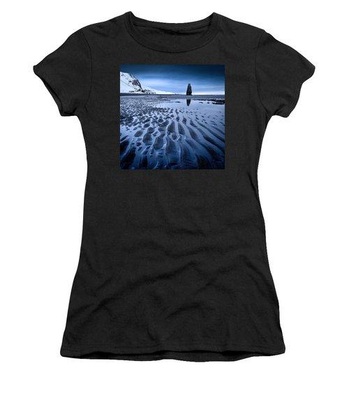 Hvitserkur, Iceland Women's T-Shirt (Athletic Fit)