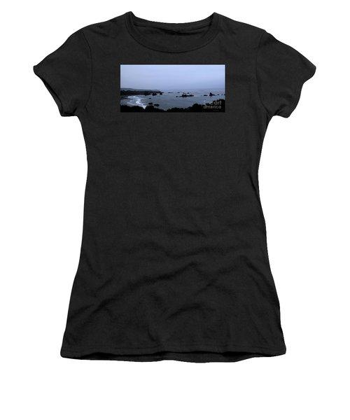 Hwy 1 San Simeon Women's T-Shirt (Athletic Fit)
