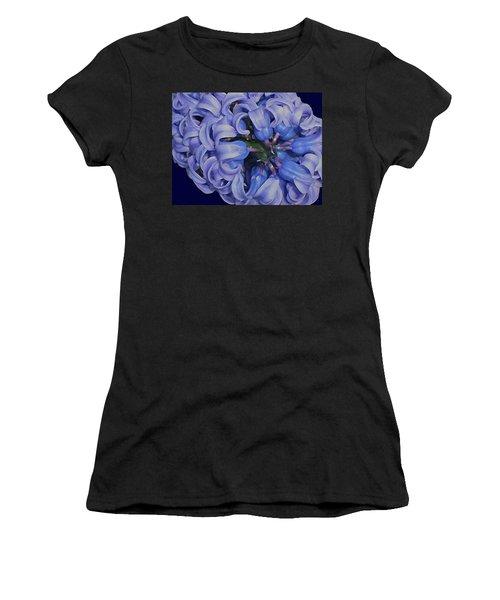 Hyacinth Curls Women's T-Shirt
