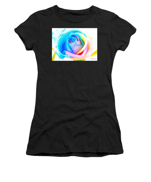 Rainbow Rose Women's T-Shirt