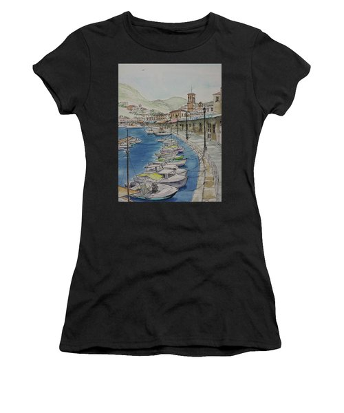 Hydra Clock Tower Women's T-Shirt (Athletic Fit)