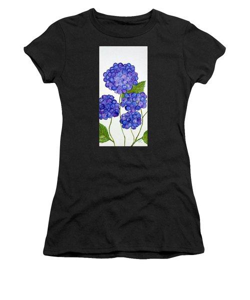 Hydrangea Women's T-Shirt (Athletic Fit)