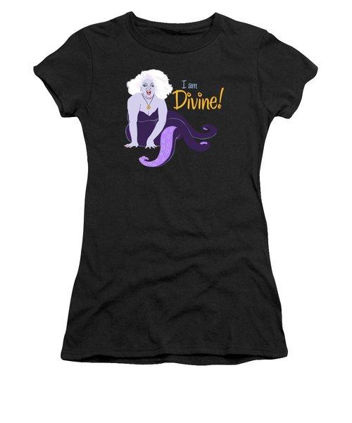 I Am Divine Women's T-Shirt (Athletic Fit)