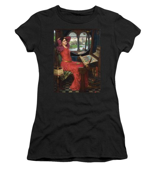 I Am Half Sick Of Shadows Said The Lady Of Shalott Women's T-Shirt