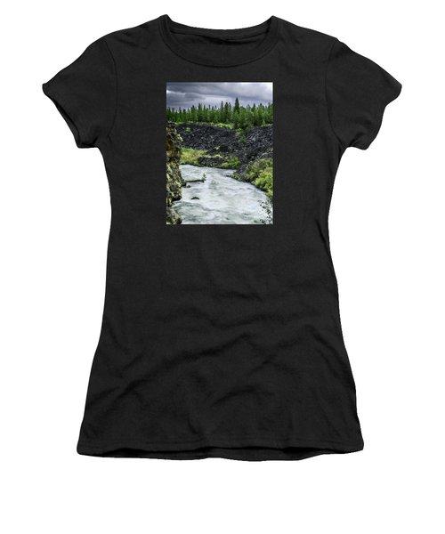 I Am River Hear Me Roar Women's T-Shirt (Athletic Fit)