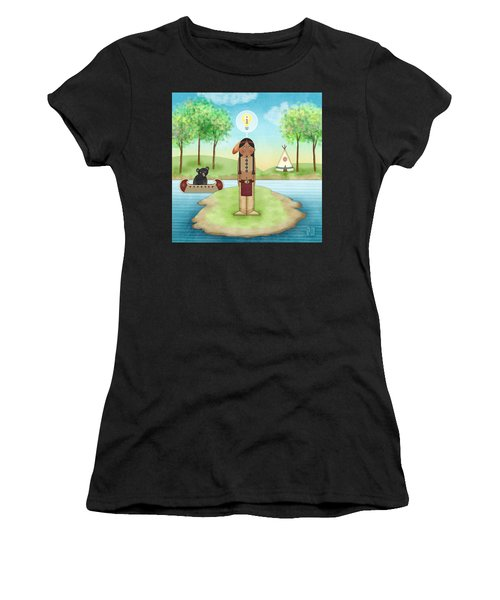 I Is For Indian Women's T-Shirt