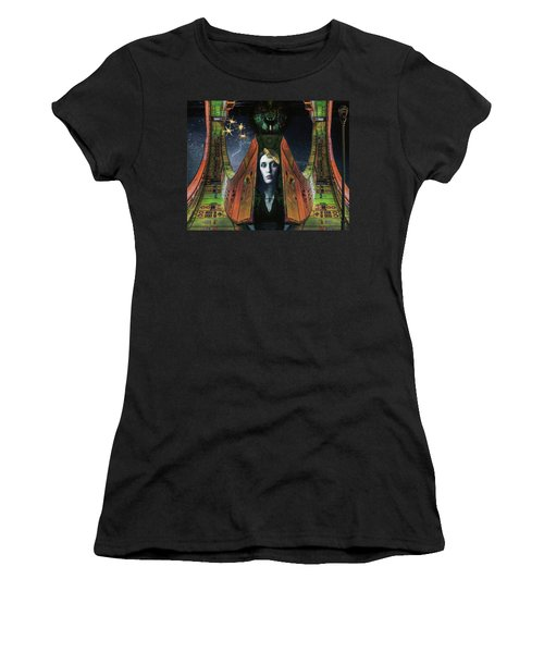 I Live Beyond Here Women's T-Shirt (Athletic Fit)