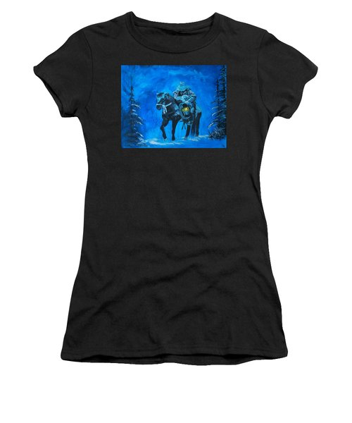 I Will Carry You Women's T-Shirt (Athletic Fit)