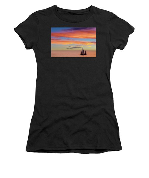 I Will Sail Away, And Take Your Heart With Me Women's T-Shirt