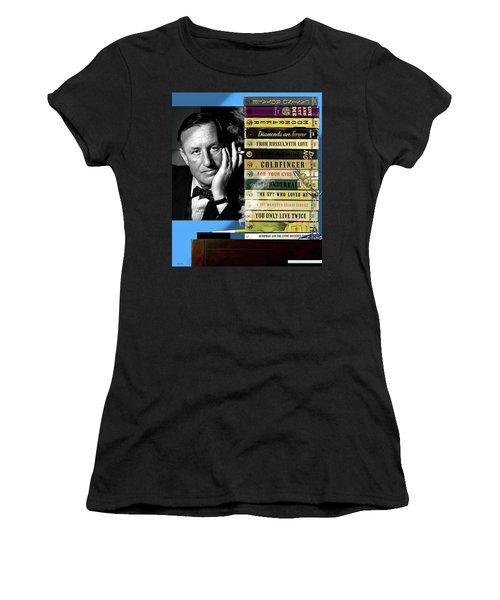 Ian Fleming, All Originals, 14 Novels Collection, James Bond Women's T-Shirt