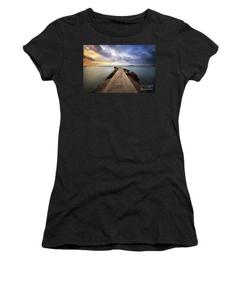 Ibiza Summer Mix 6.0 Women's T-Shirt (Junior Cut) by Yhun Suarez