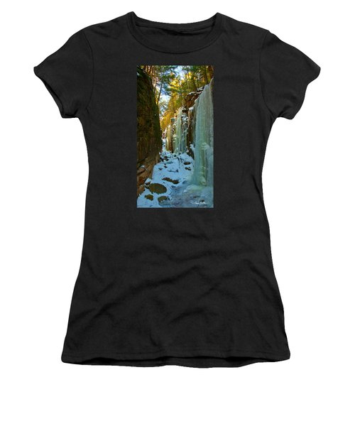 Ice At The Flume Women's T-Shirt