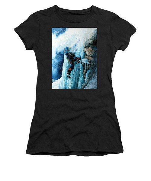 Ice Climb Women's T-Shirt