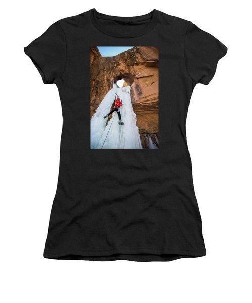 Ice Climber Women's T-Shirt