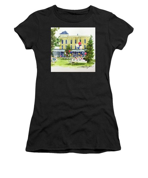 Ice Cream Social And Strawberry Festival, Lakeside, Oh Women's T-Shirt (Athletic Fit)