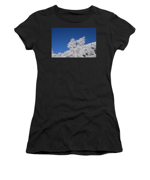 Ice Crystals Ute Pass Cos Co Women's T-Shirt