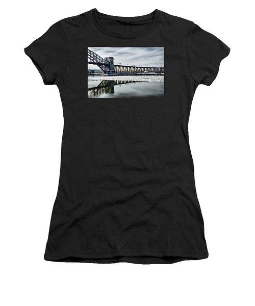 Ice Flows Under The Hellgate Women's T-Shirt
