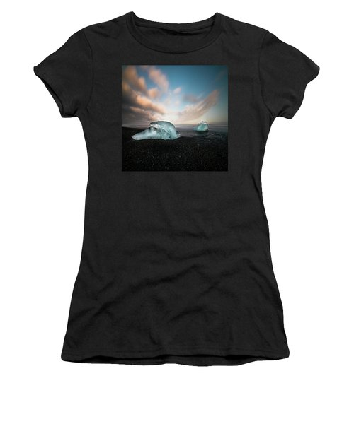 Iceland Glacial Ice Women's T-Shirt