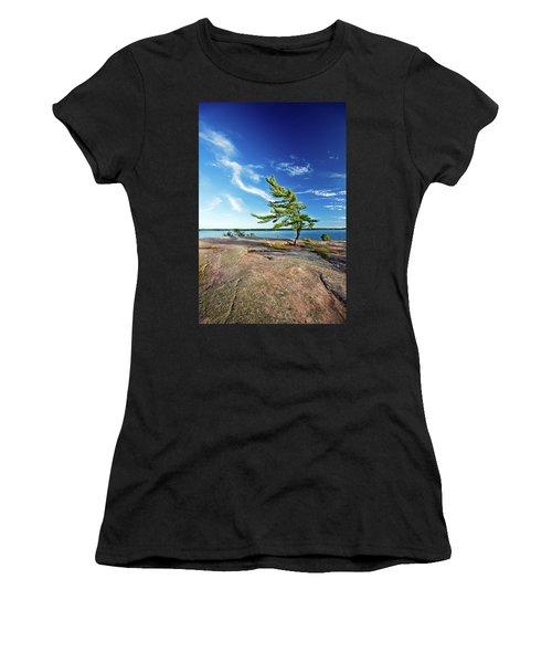 Iconic Windswept Pine Women's T-Shirt