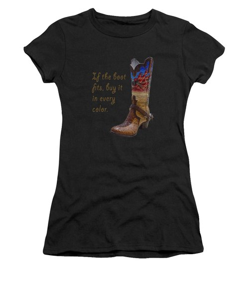 If The Boot Fits 2 Women's T-Shirt (Athletic Fit)