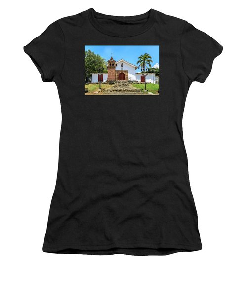 Iglesia De San Antonio Women's T-Shirt (Athletic Fit)