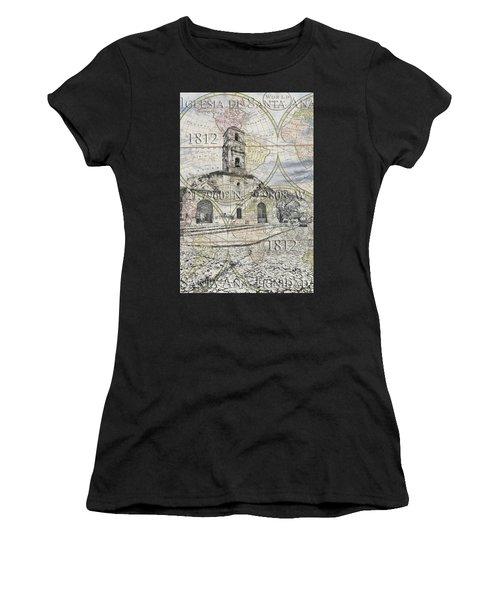 Iglesia De Santa Ana Passport Women's T-Shirt (Athletic Fit)