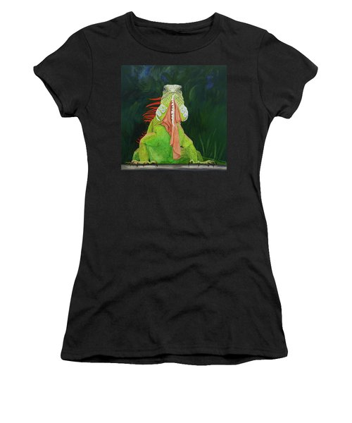 Iguana Dude Women's T-Shirt