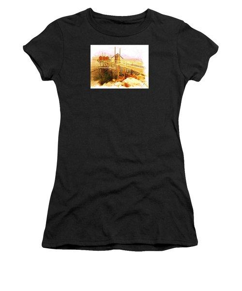Il Grande Trabucco - Trebuchet Fishing Women's T-Shirt (Athletic Fit)