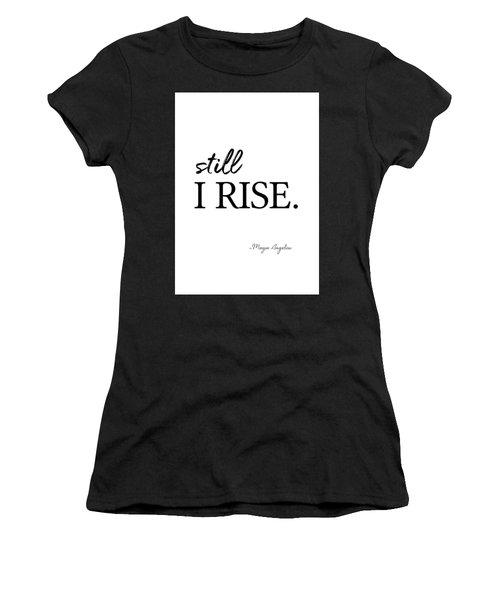 I'll Rise #minimalism 3 Women's T-Shirt
