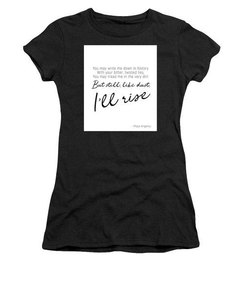 I'll Rise #minimalism Women's T-Shirt