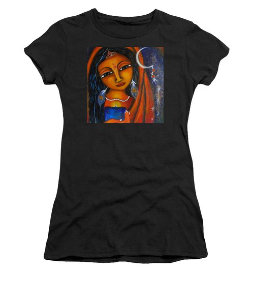 Illuminate Women's T-Shirt (Junior Cut) by Prerna Poojara
