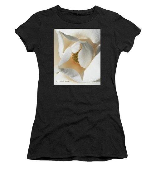 Illuminated Magnolia Macro Women's T-Shirt