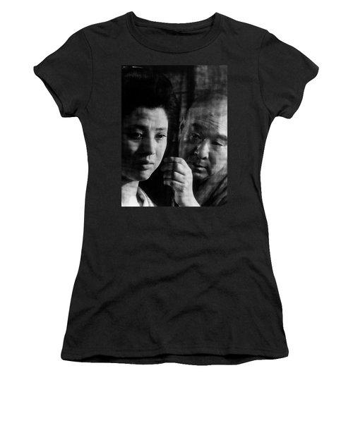 Illusion Of Blood Women's T-Shirt (Junior Cut) by Dan Twyman