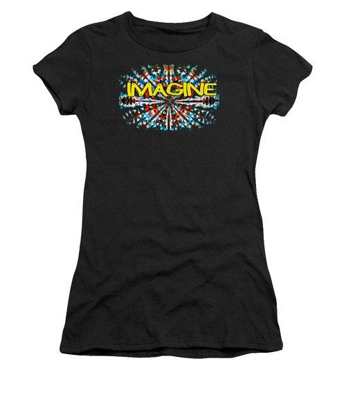 Imagine T-shirt Women's T-Shirt (Athletic Fit)