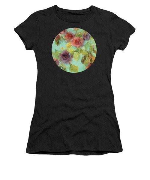 Impressionist Floral  Women's T-Shirt