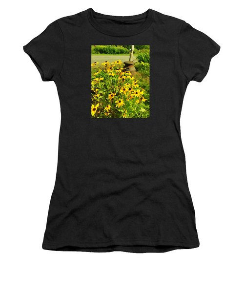 Impressions Of A Country Garden Women's T-Shirt (Athletic Fit)