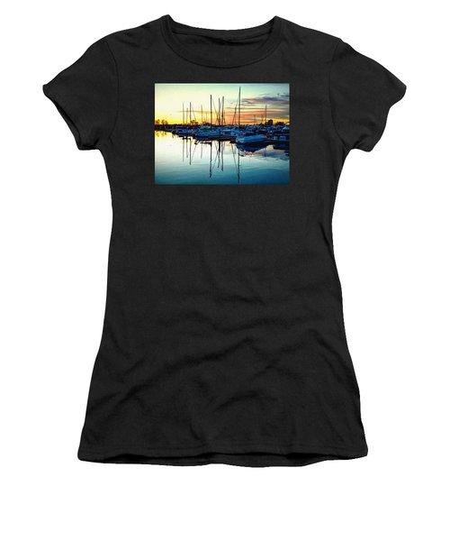 Impressions Of A San Diego Marina Women's T-Shirt