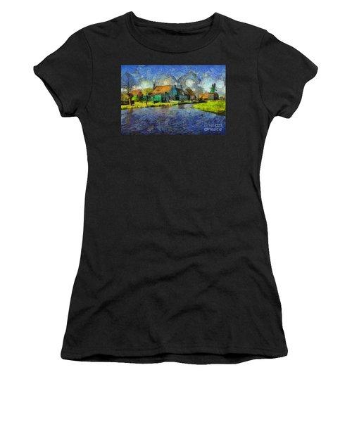 Impressions Of Zaanse Schans Women's T-Shirt
