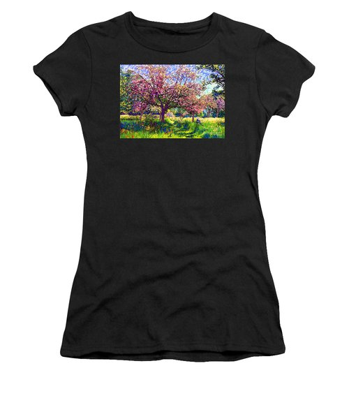In Love With Spring, Blossom Trees Women's T-Shirt